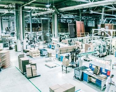 Dieses Bild zeigt die Produktion im Tubexwerk Slovakia.